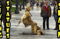 Amazing Living Statues in Spain