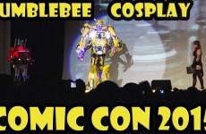 Amazing Transformers Bumblebee Cosplay at Comic Con 2015 Masquerade