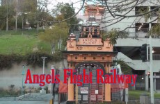 Angels Flight Railway Los Angeles California