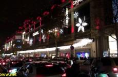 Christmas in Paris Department Store Windows