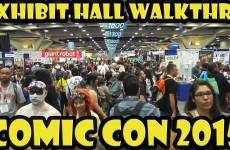 Comic Con 2015 Exhibit Hall Walkthru