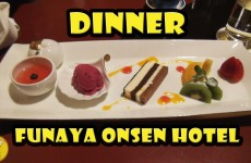 Dinner at Funaya Onsen Hotel