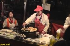 Donghuamen Night Market in Beijing China