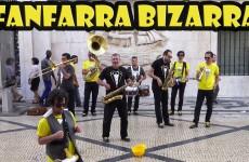 Fanfarra Bizarra – Lisbon Street Performance