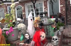 Halloween Balboa Island Newport Beach