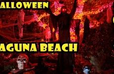 Halloween in Laguna Beach California 2015