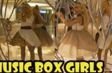 Music Box Girls at the Galaxy Hotel in Macau China