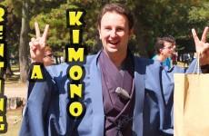 Renting a Kimono in Nara Japan