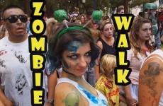San Diego Comic-Con Zombie Walk 2014
