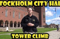 Stockholm City Hall Tower Climb