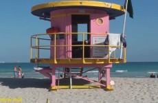 Unique Lifeguard Towers in South Beach Miami