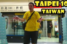 Visiting Taipei 101 – The tallest building in Taiwan!