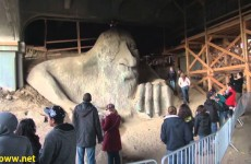Visiting the Fremont Troll in Seattle Washington