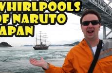Whirlpools of Naruto Japan