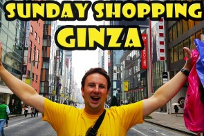 Sunday Shopping in Ginza