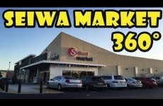 Seiwa Market Japanese Grocery in Costa Mesa California in 360