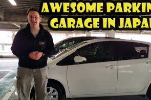 VLOG: Parking in Japan with Vending Machines and Koto Music