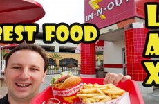 Best Food near LAX Airport – In-N-Out Burger
