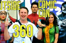 360° Video Outside San Diego Comic Con 2016