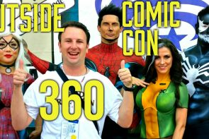 360° Video Outside San Diego Comic Con 2016
