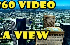 360 Video View from the LA SkySpace Observatory and SkySlide