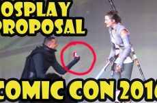 Amazing Cosplay Marriage Proposal at San Diego Comic Con 2016