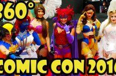 San Diego Comic Con 2016 Exhibit Hall in 360 video