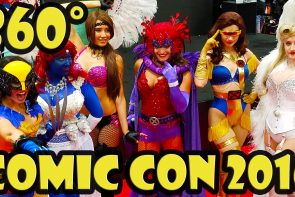 San Diego Comic Con 2016 Exhibit Hall in 360 video
