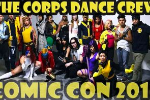The Corps Dance Crew performance at San Diego Comic Con 2016 Masquerade