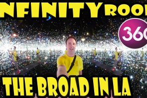 360° Video of the Infinity Mirrored Room at the Broad Museum