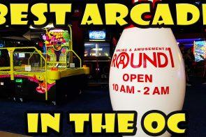 Round1 Arcade in Santa Ana California