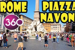 Piazza Navona – The Best of Rome in 360° Video 2 of 8