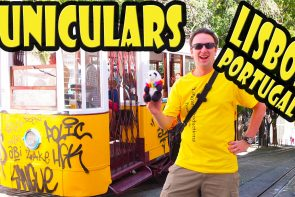 Riding the Funiculars in Lisbon Portugal