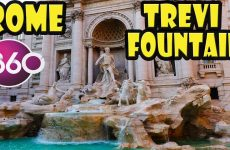 Trevi Fountain – The Best of Rome in 360° Video 1 of 8