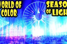 World of Color – Season of Light Disney California Adventure Holiday 2016