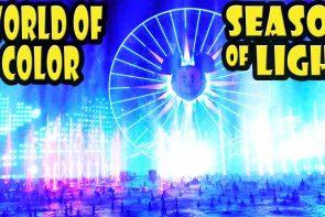 World of Color – Season of Light Disney California Adventure Holiday 2016