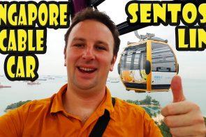 Singapore Cable Car Sentosa Line